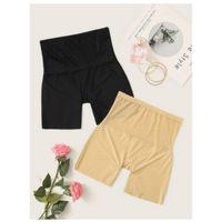 Floral lace shapewear panty set 2pack l