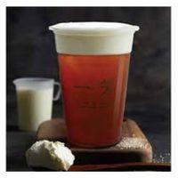Black tea cream latte