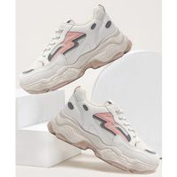 Lace-up front chunky sole trainers eur40