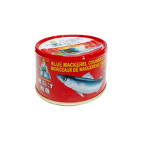 Old fisherman blue mackerel chunks in tomato sauce