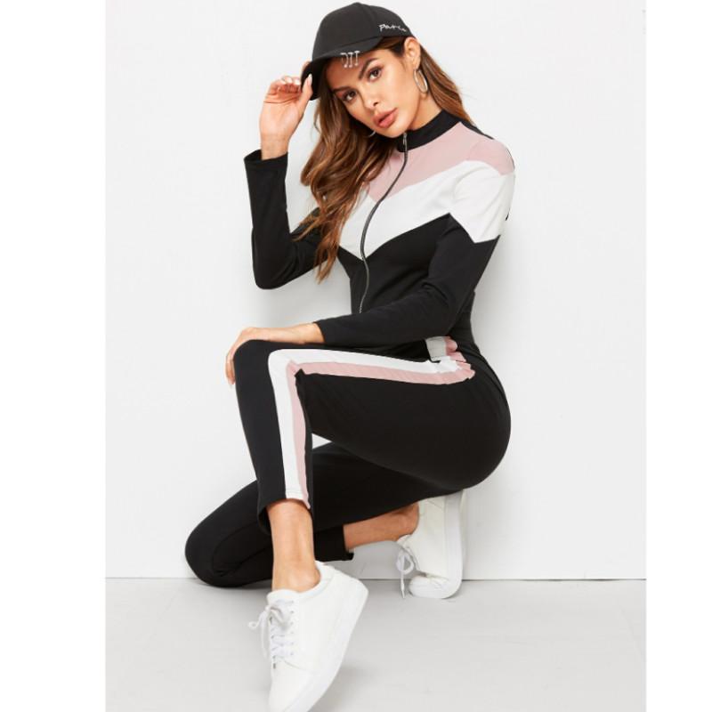Jacket & ankle-cut legging set s