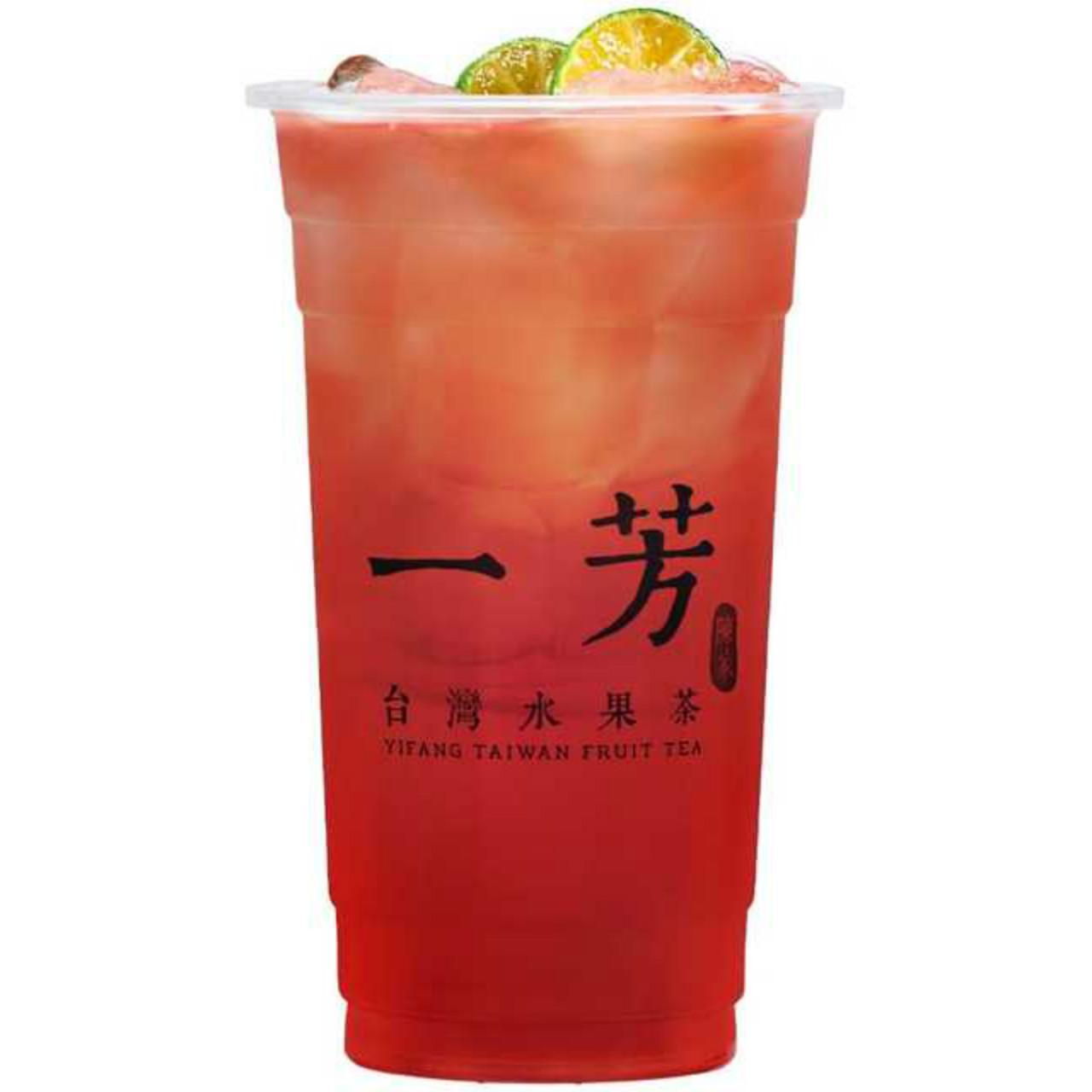 Roselle kumquat green tea