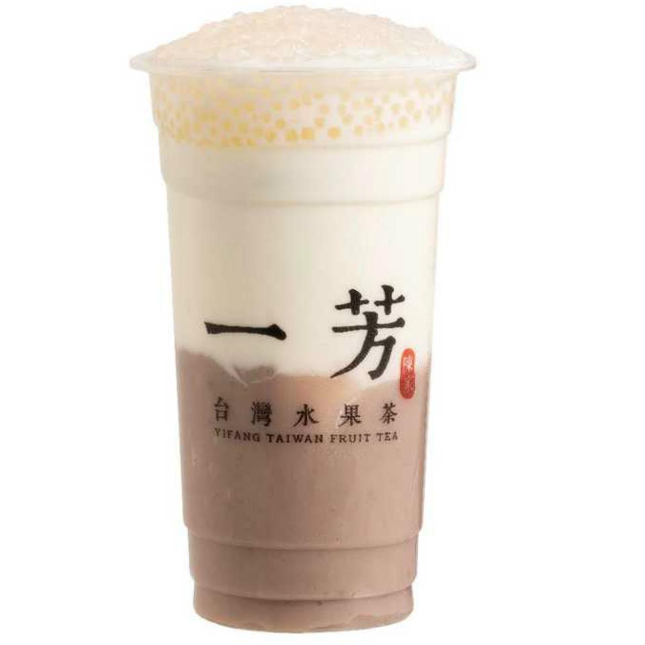 Sweet taro saga milk