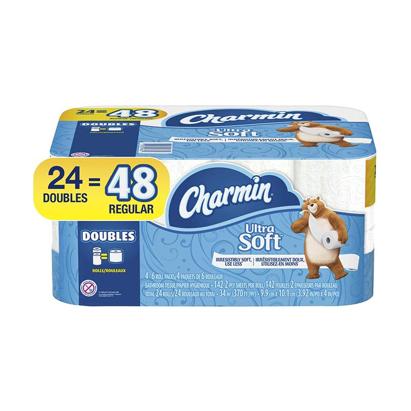Charmin ultra soft bathroom tissue