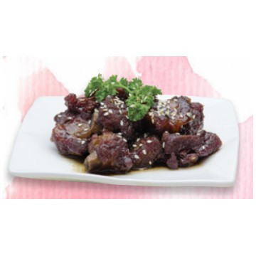 Pork spareribs in black vinegar (c)