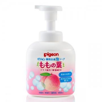 Pigeon baby peach leaf water soap