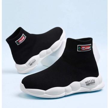 Wide fit sock sneakers eur36