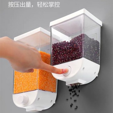 Wall-mounted cereal cans 1 set (one large and one small)