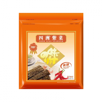 Four seas seaweed hot and spicy 24pk