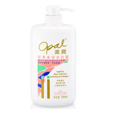 Opal classic moisturizing shower foam
