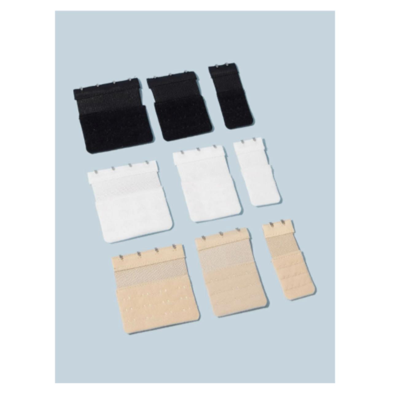 9pack plus bra extender hook strap one-size
