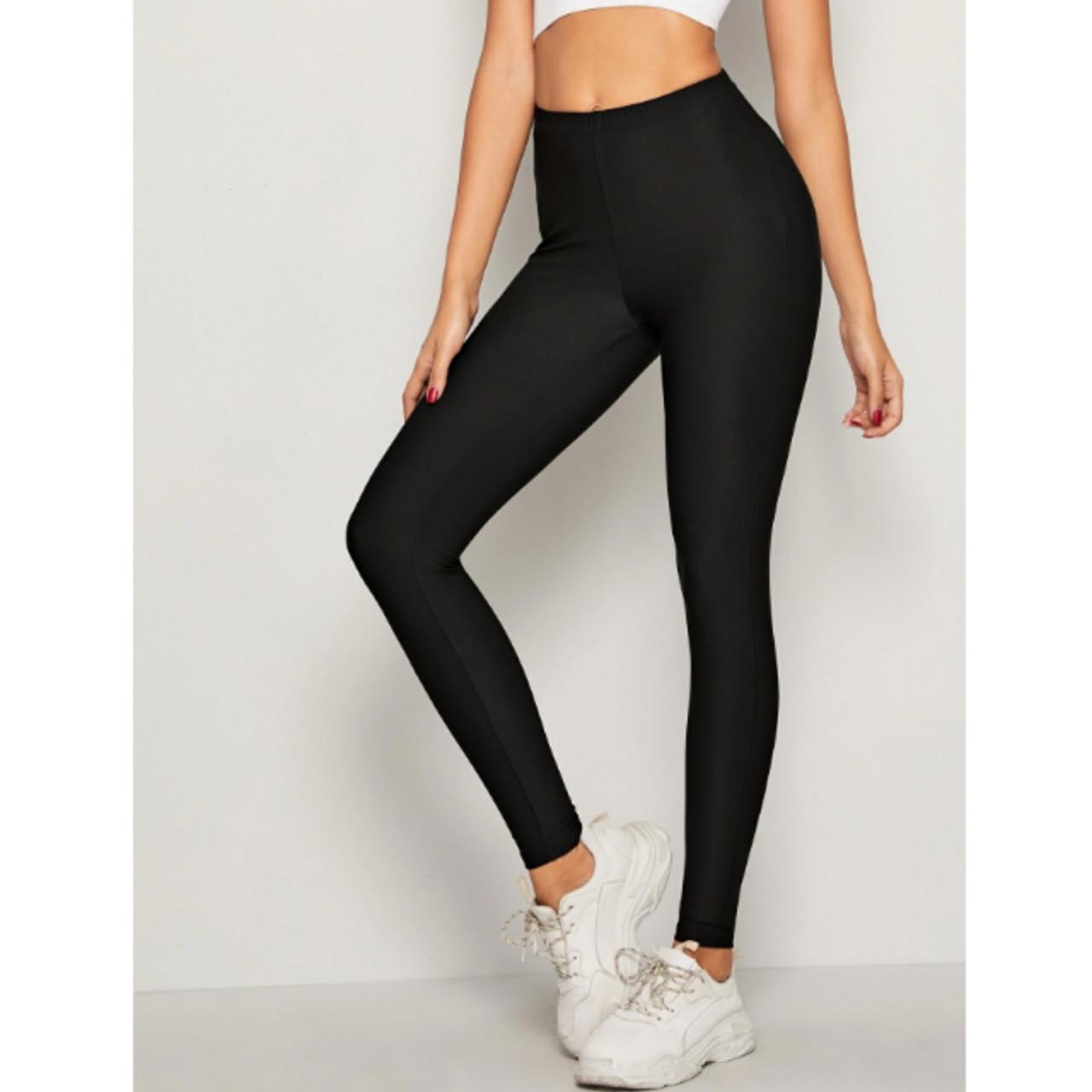 Solid skinny leggings m
